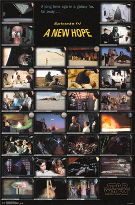 Image for Star Wars Poster - A New Hope Frames