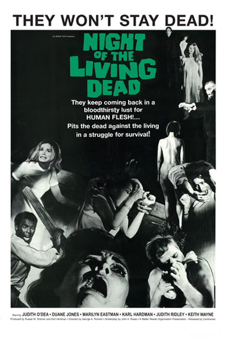 Image for Night of the Living Dead Poster - They Won't Stay Dead!