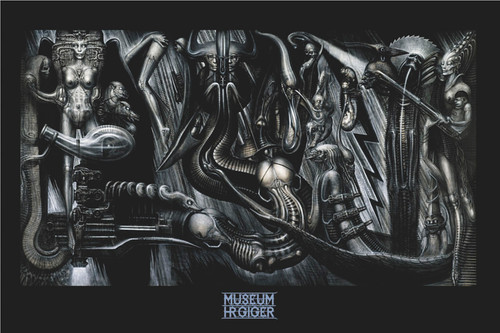 Image for H.R. Giger Poster - Ani Mia