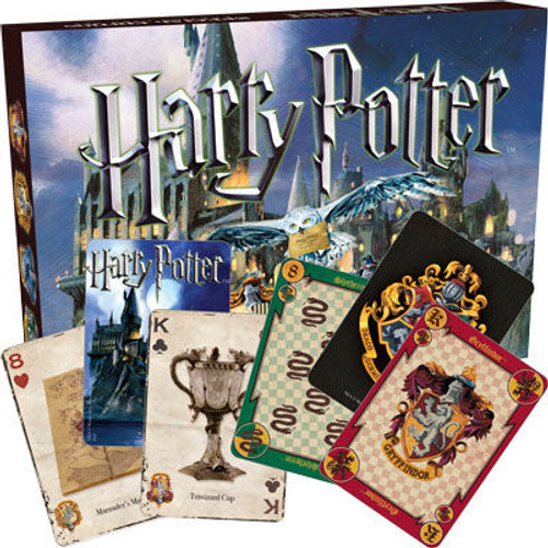 Image for Harry Potter Matchbox Double Playing Card Decks