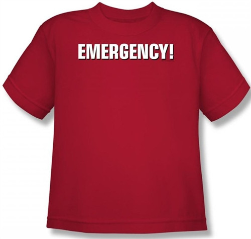 Image for Emergency! Logo Youth T-Shirt