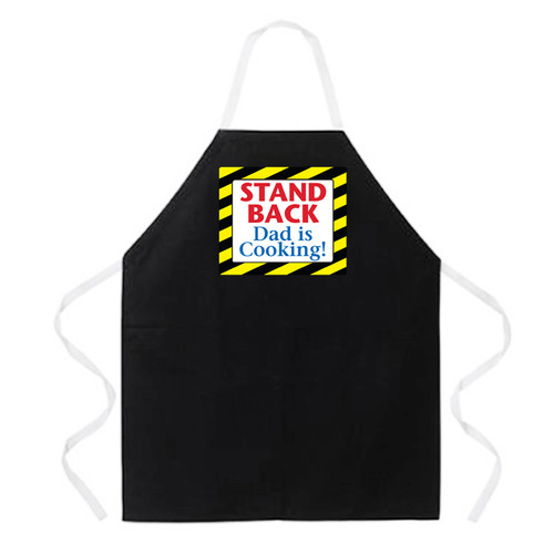 Image for Stand Back Dad is Cooking! Apron