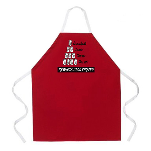 Image for Redneck Food Pyramid Apron
