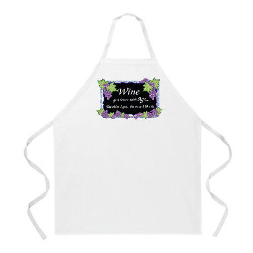 Image for Wine Gets Better With Age... Apron