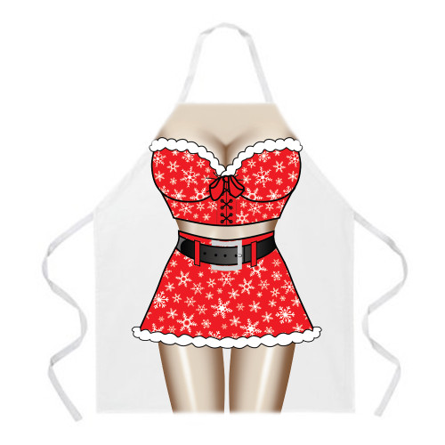 Image for Santa Girl Apron