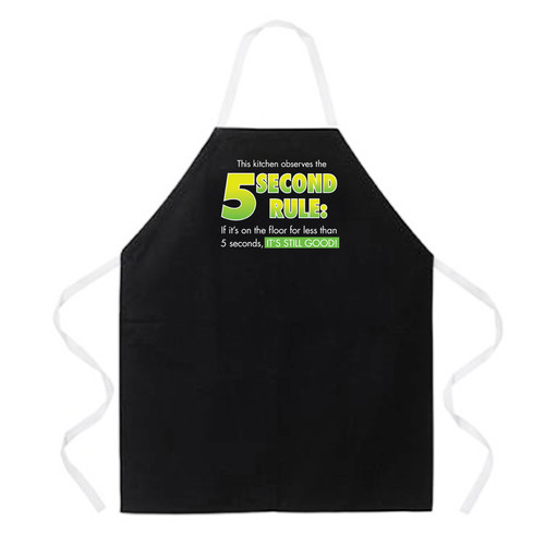 Image for 5 Second Rule Apron