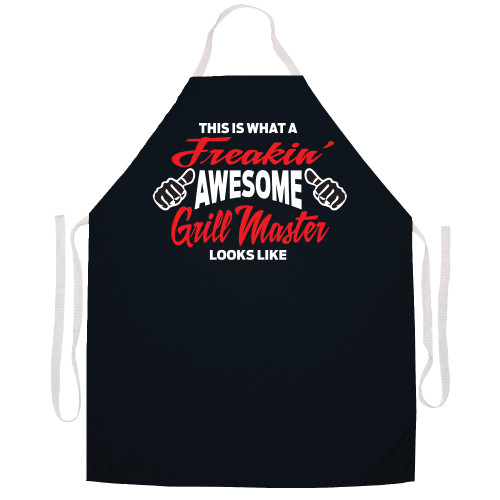 Image for This is What a Freakin' Awesome Grill Master Looks Like Apron