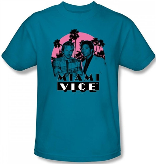 Image for Miami Vice Don't Do Anything Stupid T-Shirt