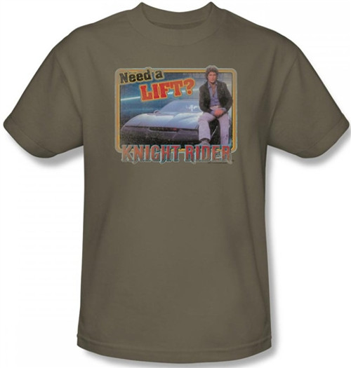 Image for Knight Rider Need a Lift? T-Shirt
