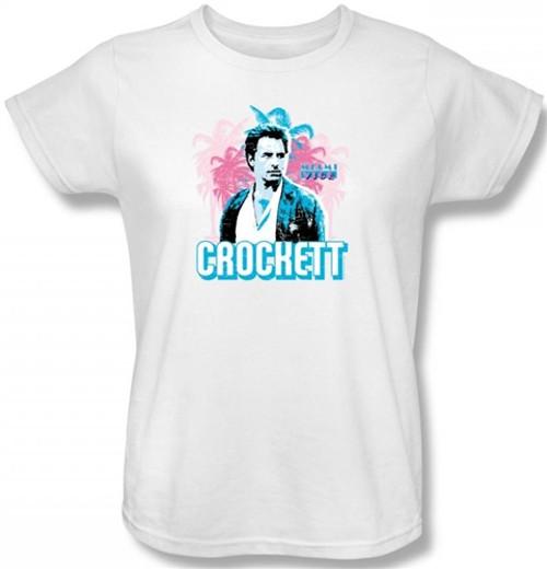 Image for Miami Vice Crockett Woman's T-Shirt