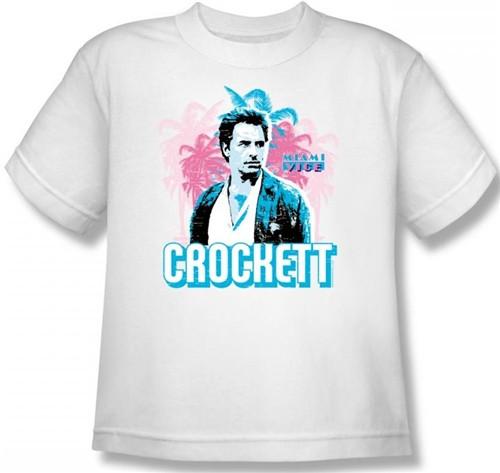 Image for Miami Vice Crockett Youth T-Shirt
