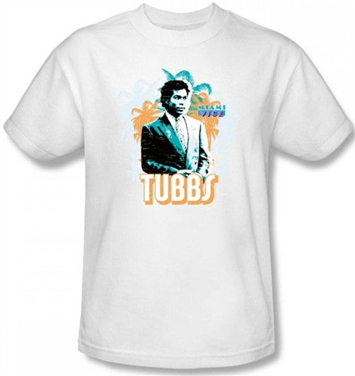 Image Closeup for Miami Vice Tubbs T-Shirt