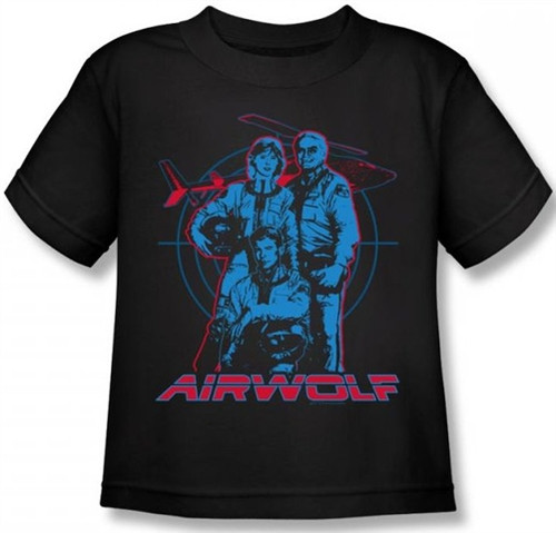 Image for Airwolf Graphic Kids T-Shirt