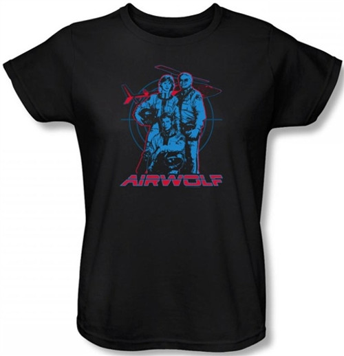 Image for Airwolf Graphic Woman's T-Shirt