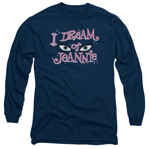 Image for I Dream of Jeannie Long Sleeve Shirt - Eyes