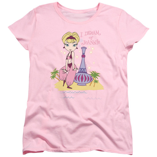 Image for I Dream of Jeannie Womans T-Shirt - Island Dance