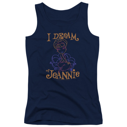 Image for I Dream of Jeannie Girls Tank Top - Paint