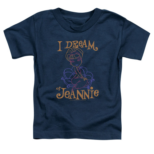 Image for I Dream of Jeannie Toddler T-Shirt - Paint