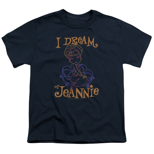 Image for I Dream of Jeannie Youth T-Shirt - Paint