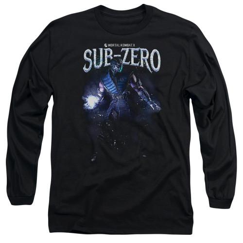 Image for Mortal Kombat Long Sleeve Shirt - Sub-Zero