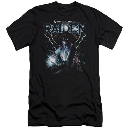 Image for Mortal Kombat Premium Canvas Premium Shirt - Raiden