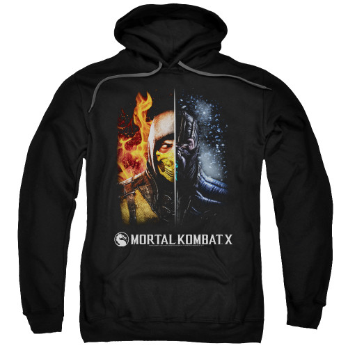 Image for Mortal Kombat Hoodie - Fire and Ice