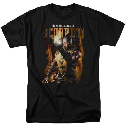 Image for Mortal Kombat T-Shirt - Scorpion