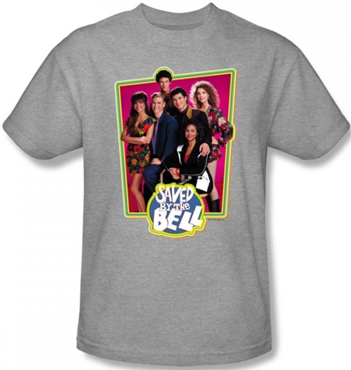 Image for Saved by the Bell Cast T-Shirt