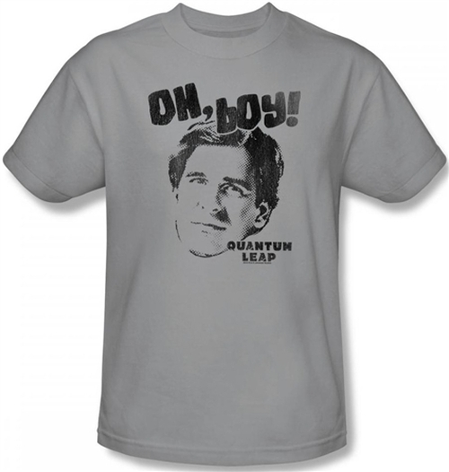 Image Closeup for Quantum Leap Oh Boy! T-Shirt
