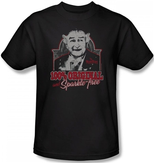 Image Closeup for The Munsters 100% Original and Sparkle Free T-Shirt