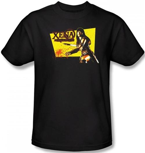 Image Closeup for Xena Warrior Princess Cut Up T-Shirt