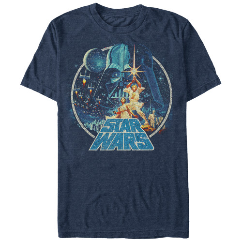 Image for Star Wars Vintage Victory Heather T-Shirt