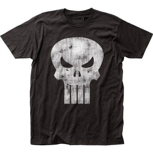 Image for The Punisher T-Shirt - Distressed Logo