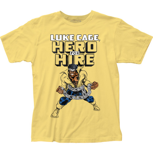 Image for Luke Cage T-Shirt - Hero for Hire