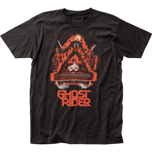 Image for Ghost Rider T-Shirt - on the Hood