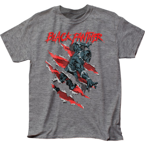 Image for Black Panther Heather T-Shirt - Clawing