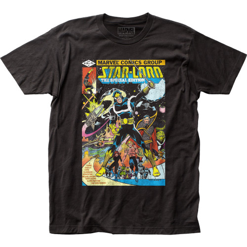 Image for Guardians of the Galaxy T-Shirt - Star-Lord Cover