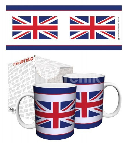 Detail image for British Union Jack Coffee Mug