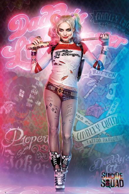 Image for Harley Quinn Poster - Daddy's Little Monster