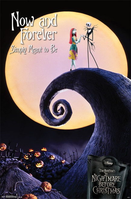 Image for Nightmare Before Christmas Poster - Now and Forever