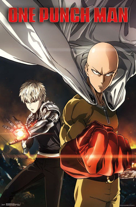 Image for One Punch Man Poster - Saitama