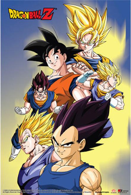 Image for Dragon Ball Z Poster - Goku, Vegeta, Vegito