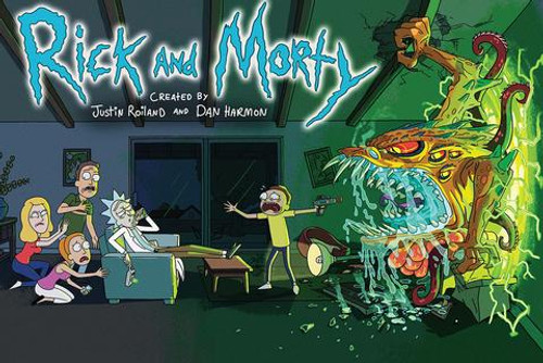 Image for Rick and Morty Poster
