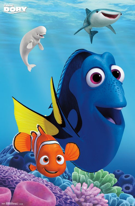 Image for Finding Dory Poster