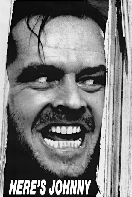 Image for The Shining Poster - Jack Nicholson