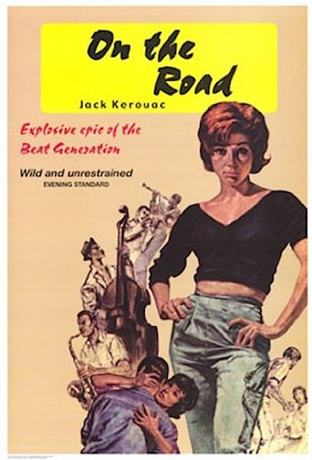 Image for On the Road with Jack Kerouac Classic Book Cover Poster
