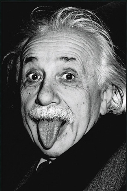 Image for Albert Einstein Poster - Tongue