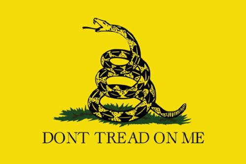 Image for Gadsen Flag Poster - Don't Tread on Me