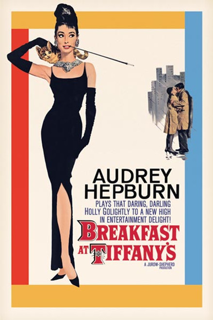 Image for Audrey Hepburn Poster - Breakfast at Tiffany's
