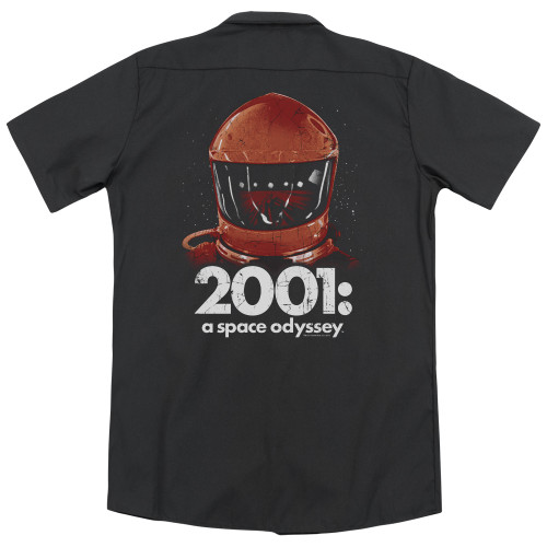 Image for 2001: A Space Odyssey Dickies Work Shirt - Space Travel